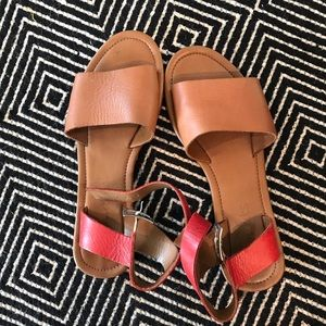 Coconuts ankle sandals